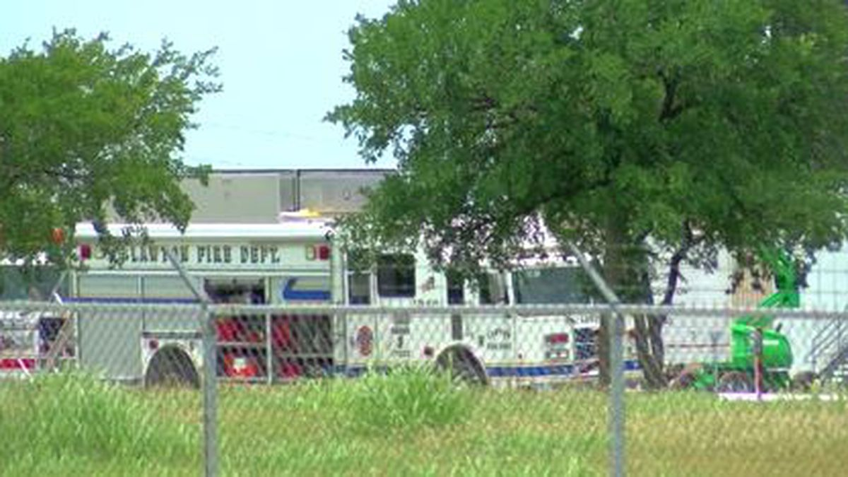 A hazmat team responds to Goodyear Tuesday afternoon after a chemical spill.