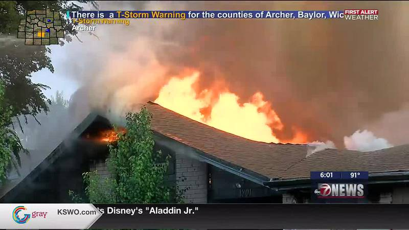 An early morning fire destroys abandoned nursing home.