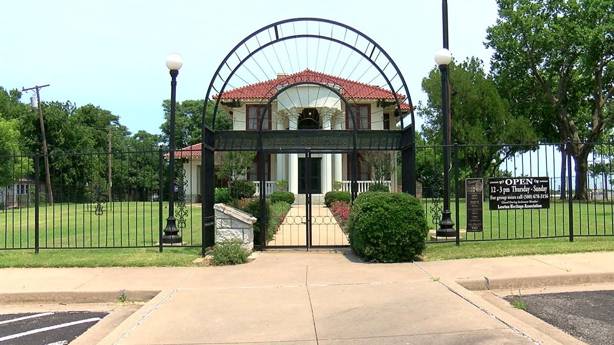 The historic Mattie Beal home