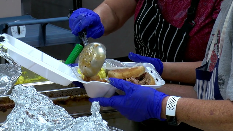 A BBQ was held in Lawton Friday.