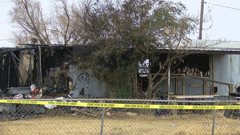 One person has died and a home is a total loss after a fire in Walters Thursday night.