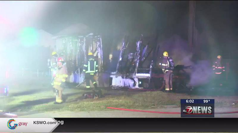 Fire destroys home on 38th Street.