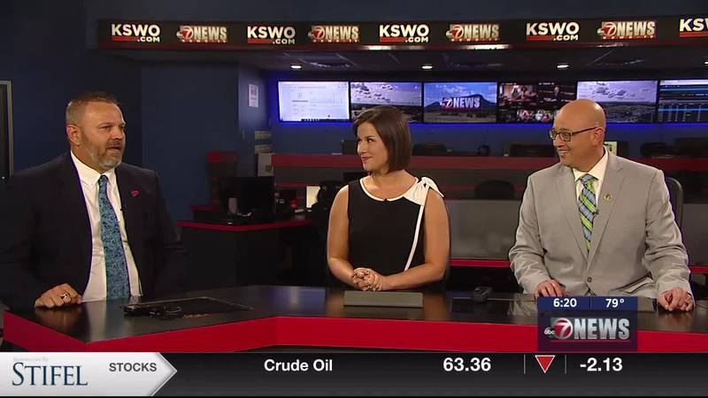 The City of Lawton's newly selected Deputy City Manager Dewayne Burk talks with 7News about his...