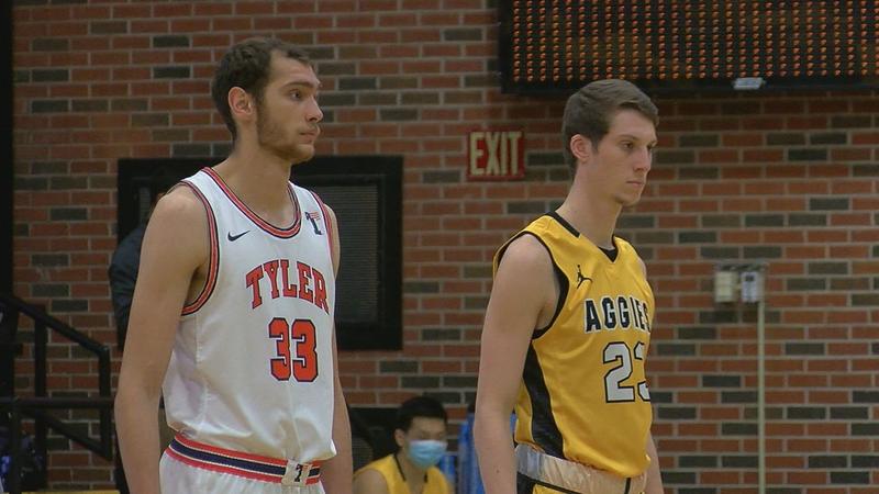 Aggies fall to UT-Tyler in Overtime