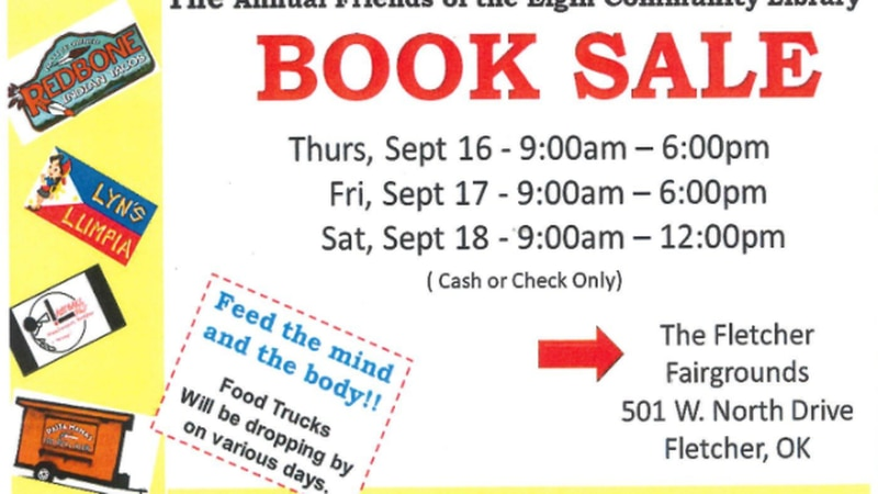 The Annual Friends of the Elgin Community Library Book Sale begins on Sept. 16.
