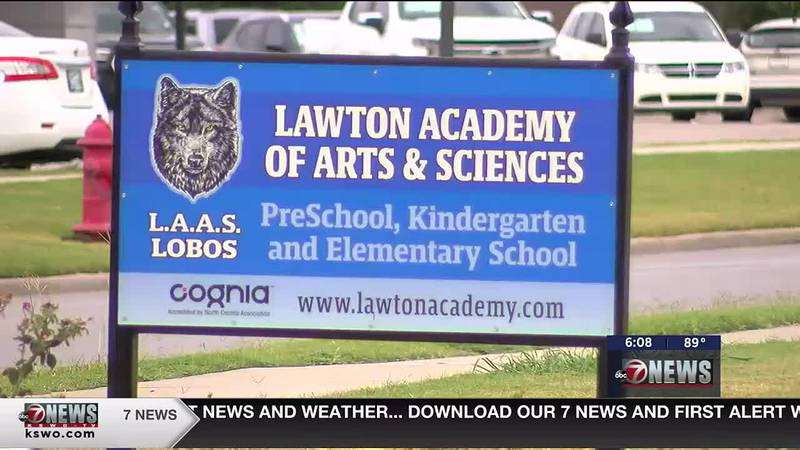 Lawton Academy of Arts of Sciences mandates masks for students and staff.