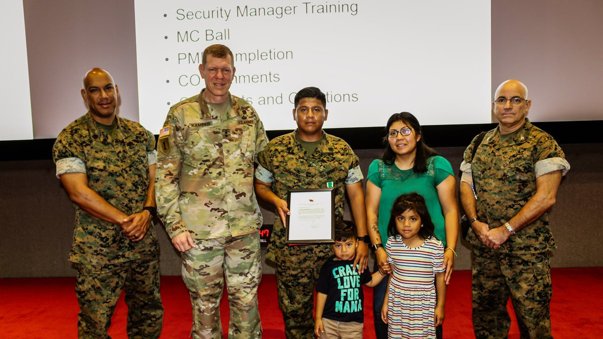 Staff Sergeant Edgar Carachure performed CPR helped after a crash until Emergency Services...