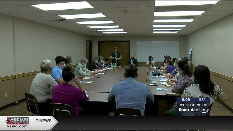 Child advocacy groups meet to discuss school readiness and legislation affecting students.