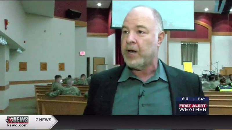 Jackson Katz visits Fort Sill to discuss gender violence in the military.