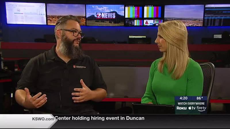 Makenzie Burk interviews Keith Coast for Kochendorfer Brewing Company's Oktoberfest events