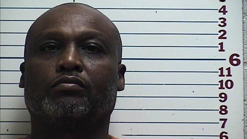 Lawton Police arrest Gregory McClain after foraging over a thousand dollars worth of checks.