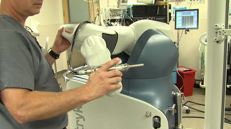 Comanche County Memorial Hospital has done thousands of surgeries with their MAKO robotic-arm...