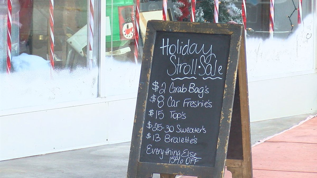 This event gave community members a chance to shop local as downtown retailers had special...