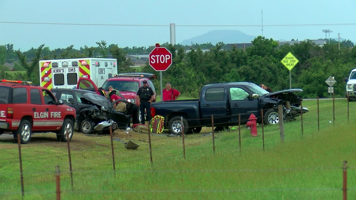 Injury accident in Elgin on July 26.