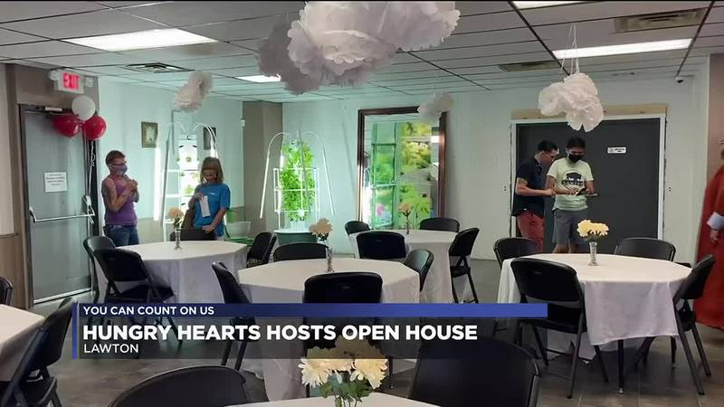 The organization that feeds the homeless and those in need opened its doors to the public for...